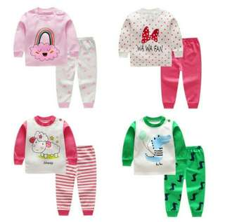 PAJAMAS COTTON BABY CLOTH SET 01
