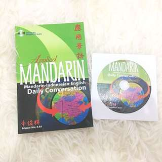 Buku Percakapan Mandarin Applied Mandarin Mandarin-Indonesian-English Daily Conversation