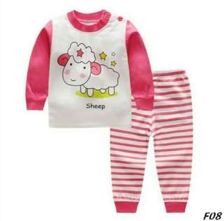 PAJAMAS COTTON BABY CLOTH SET 02