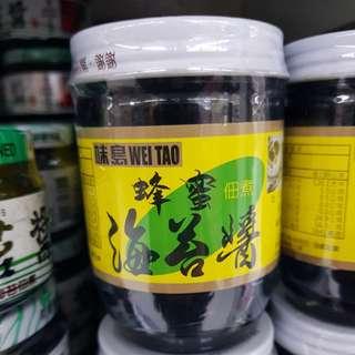 ✈大玩台灣代購✈味島蜂蜜海苔醬190g