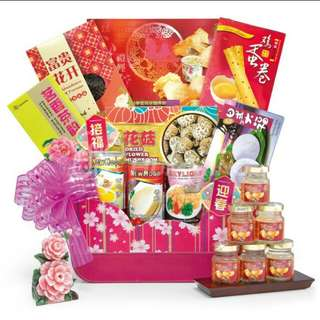 CNY Hamper Chinese new year gift Hampers (MK303)
