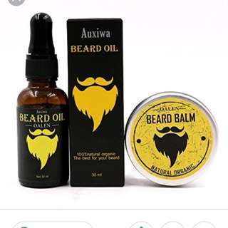 Organic Beard Oil Leave In Conditioner Growth