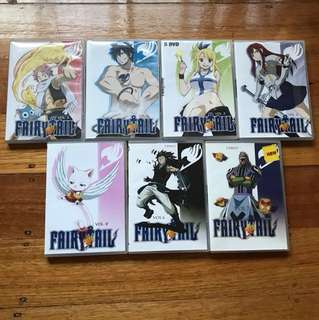Fairy tail DVD set