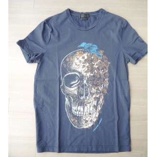 McQueen Skull Raven T-Shirt - Collectors Item