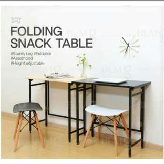 Foldable snack Table computer laptop study portable table