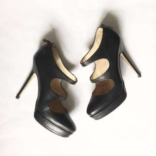 JIMMY CHOO black mary jane heels