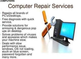 Desktop laptop hardware software repair