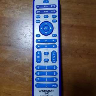 Universal Learning  Remote Control For TV/SAT/DVD