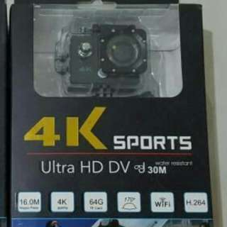 4k Action Cam With Wifi