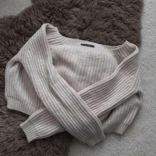 Brandy Melville Cropped Knit