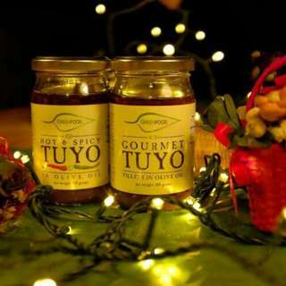 Gourmet Tuyo, Hot and Spicy Tuyo, Smoked Bangus and Hot and Spicy Bangus