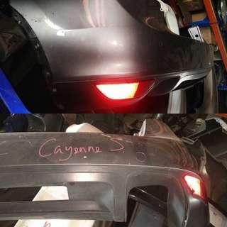 Porsche Cayenne S 2011 Original rear bumper