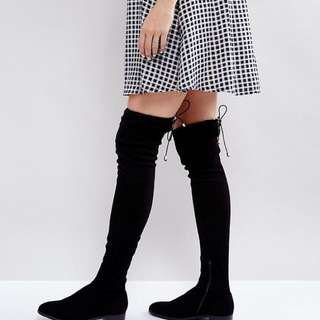 ASOS OVER THE KNEE BOOTS