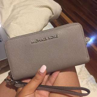 Michael kors grey wallet RRP $115