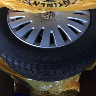 Winter Tires set of Four 215/60/R16 with Rims