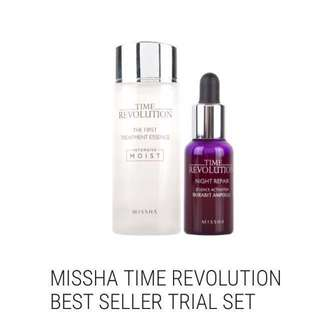 🎁[Ready Stocks] - Missha Time Revolution Best Seller Mini Trial Set