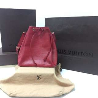 Preloved: Louis Vuitton Petit Noe Epi Leather