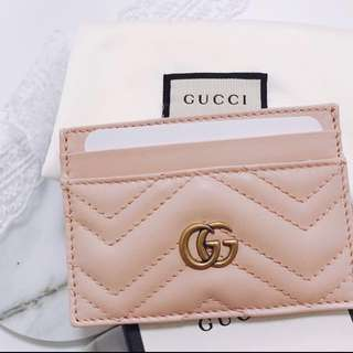 Gucci gg marmont card holder 雙G卡片套