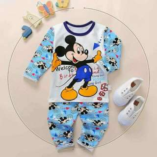 Mickey mouse Pajama1-12 years old