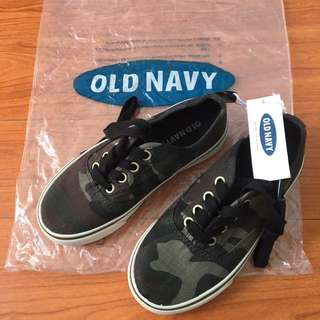 Old Navy kids Camouflage shoes (Sneakers)