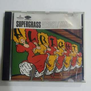 Music CD : SUPERGRASS/ ALRIGHT/TIME
