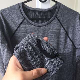 Cotton on work out grey top