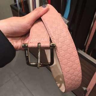 Gucci belt 女裝皮帶 belt 雙G