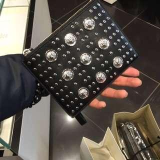 特價!Versace  男裝/ 女裝 clutch bag 手提包 銀包