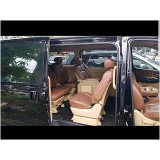 MPV Hyundai Starex 2.5 auto disel car rental & Chauffeur