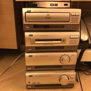 JVC stereo 音響組合-(original $3500)馬鞍山富寶花園交收