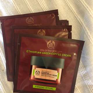 6 PACK Body Shop Firming Cream