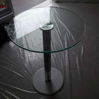 Coffe table diameter 30 cm kaca 12 mm