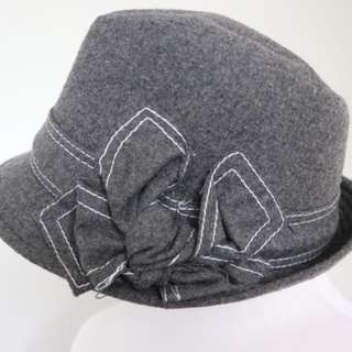 Grey felt hat. Never worn