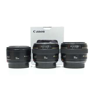 Canon EF 50mm F1.8 II & 50mm F1.4 USM (Read Description for Price)