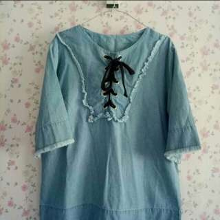 Blouse denim by @rubylicious