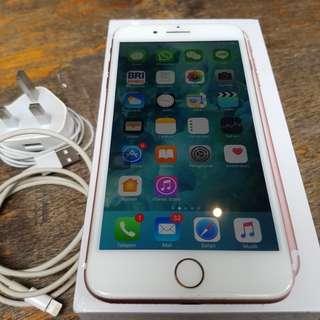 Original iphone 7 plus rosegold 32G ex intern