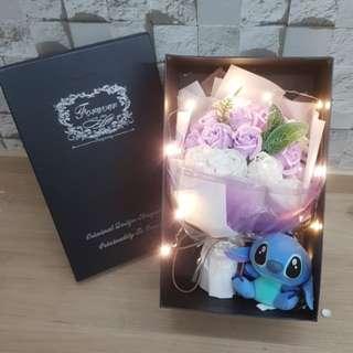 ($48)Soap rose bouquet