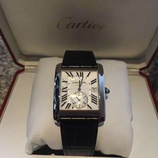 Cartier tank mc men size