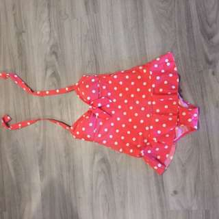 Sweet polkadot swimsuit