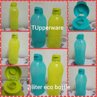 Tupperware 2L eco bottles