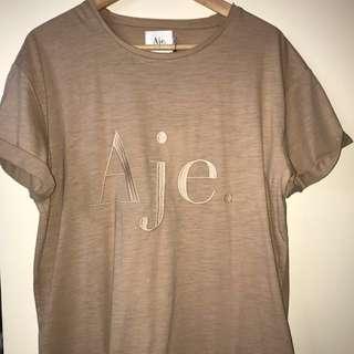 Aje Nude Tee T Shirt