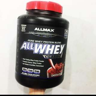 Ready stock ALLMAX Nutrition, AllWhey Classic, 100% Whey Protein, Chocolate, 5 lbs (2.27 kg)