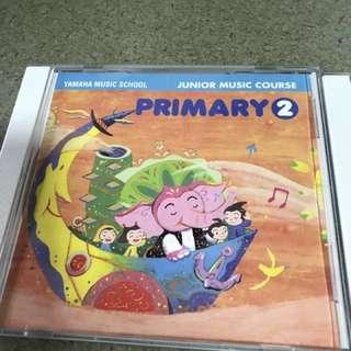 Yamaha - Junior Music Course CDs