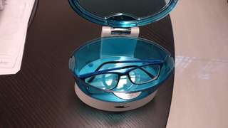 Electric eye glasses washer