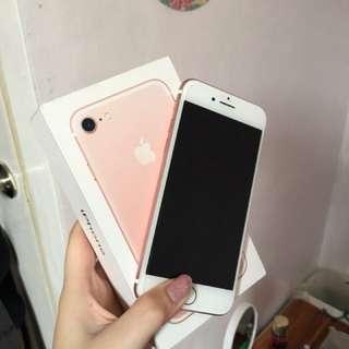 Iphone 7 ROSEGOLD 32gb GLOBE LOCKED