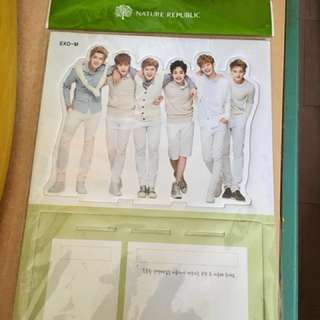 EXO-M x Nature Republic 企牌