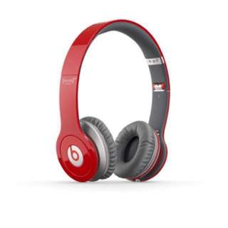 Beats Solo HD RED Edition On-Ear Headphone (discontinued manufacturer)