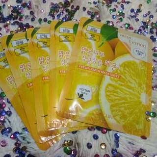 3W Clinic Mask Lemon