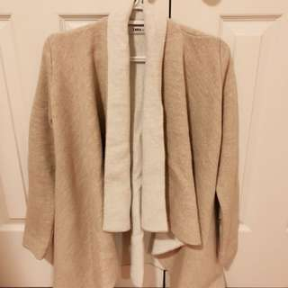 Zara open cardigan jacket