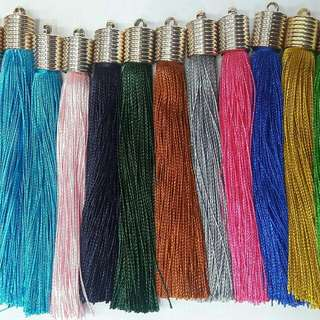 Tassels 5 inches length 4pcs 17 colors